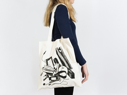 picture of printed tote bag — manuela peixoto